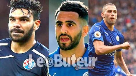 Trois Algériens dans  la liste des  nominés: Mahrez  en super favori