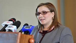 Mounia Meslem à Sidi Bel-Abbès:Lutter efficacement contre les assassinats et les rapts d'enfants