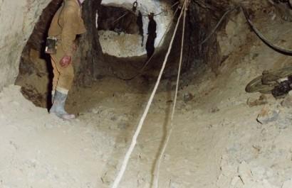 Éboulement dans une galerie de la mine de Boukaïd à Tissemsilt