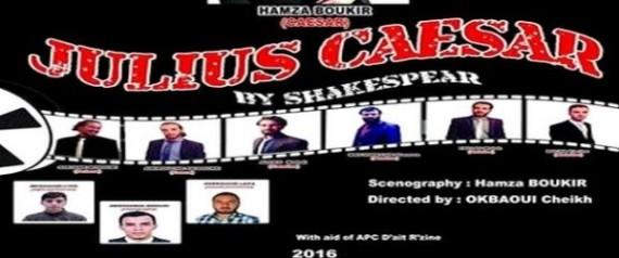 La pièce «Jules César» de William Shakespeare présentée en Tamazight à Alger