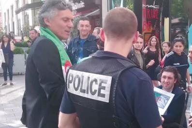 Arrestation de Rachid Nekkaz par la police française