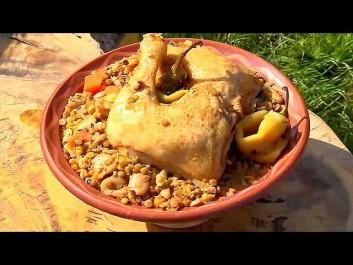 Couscous avec soupe de Yennayer – Recette facile – La cuisine algérienne 2015, Samira TV