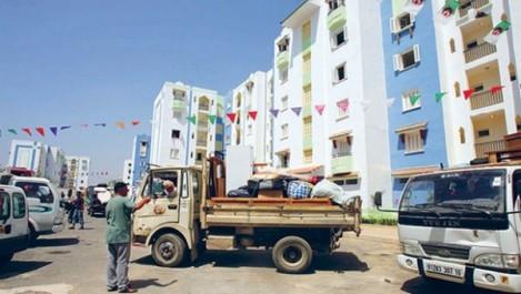 Algérie: 387 familles relogées lundi dans le cadre de la 21e opération de relogement