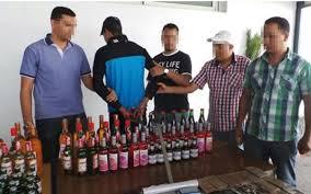 Ouled Maaleh : Saisie de 740 bouteilles d'alcool et des arrestations