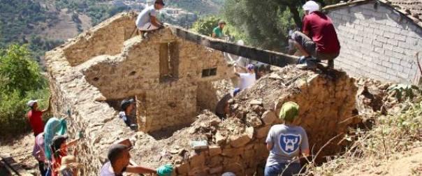 Le collectif de jeunes «Tamazgha Builders» redonne vie aux maisons traditionnelles amazighes