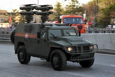 L'Algérie s'équipe de 28 véhicules blindés russes