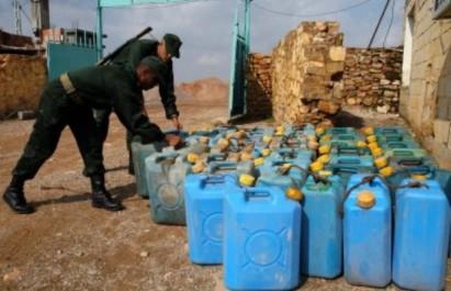Contrebande à Tebessa: 2 000 litres de carburant saisis aux frontières