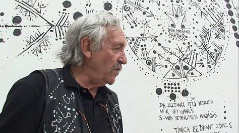 La nouvelle œuvre du plasticien Denis Martinez, réalisée à partir d'un poème de sa compatriote Habiba Djahnine