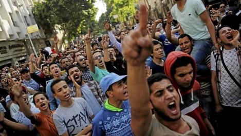 Egypte: Des manifestations contre la hausse du coût de la vie.