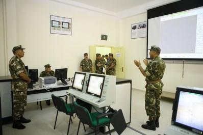 Ouargla : Le commandant de la Gendarmerie inaugure le nouveau siège du centre opérationnel régional