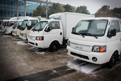Usine Emin Auto/JAC Le premier camion en février 2017