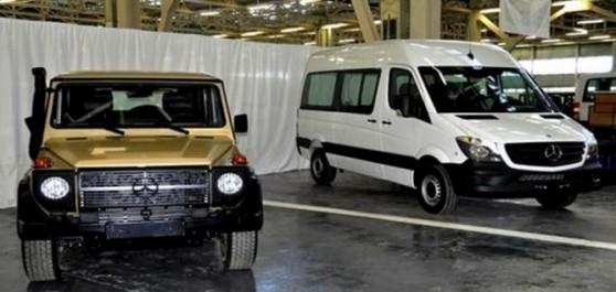 Création d'une entreprise pour la commercialisation des véhicules utilitaires Mercedes produits à Tiaret