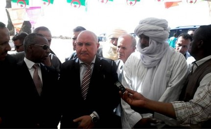 Abdelouahab Nouri à Djanet: Vers l'exploitation de tout le potentiel touristique.