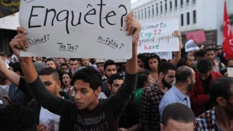 Nouvelle manifestation au Maroc pour exiger justice pour Mouhcine Fikri : Le trône de Mohamed VI toujours chancelant