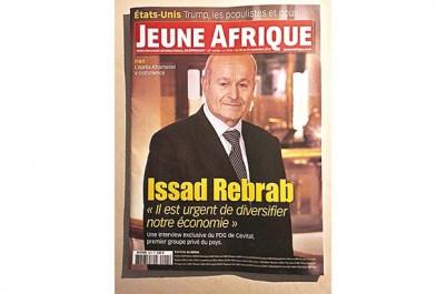 """Issad Rebrab dans une interview à """"Jeune Afrique"""" : """"Ce ne sont pas les idées qui manquent…"""""""