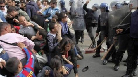 Tizi Ouzou: Affrontement entre citoyens et policiers.