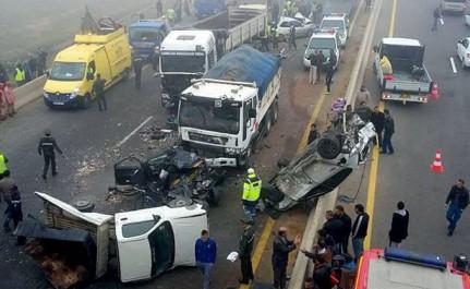 La Police Dresse Son Bilan Du Mois D'octobre : 33 blessés dans 27 accidents de la circulation