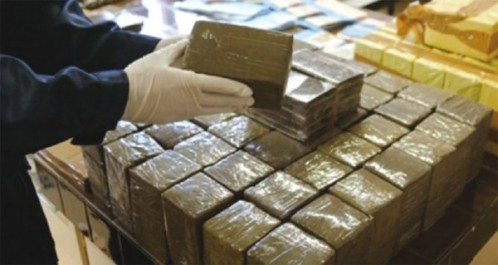 Un demi-kilo de cocaïne saisi par la police d'alger