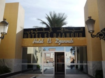 Ghardaïa : L'hôtel El Djanoub fait peau neuve