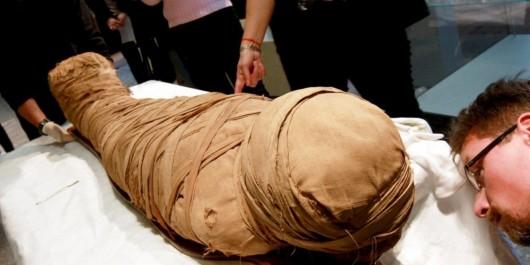 Egypte : découverte d'une momie plurimillénaires près de Louxor