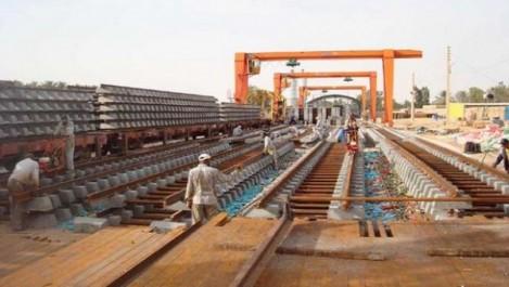 La nouvelle ligne ferroviaire Touggourt-Hassi-Messaoud réalisée à 40%