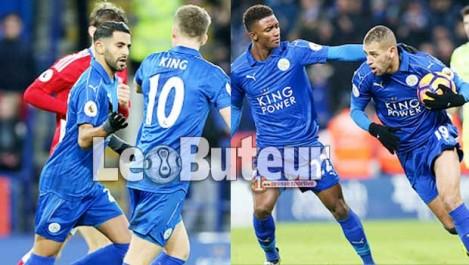 Mahrez et Slimani évitent le pire à Leicester !