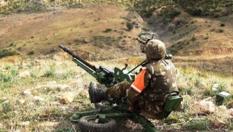 Neuf abris pour terroristes détruits à Sidi Bel Abbès (MDN)