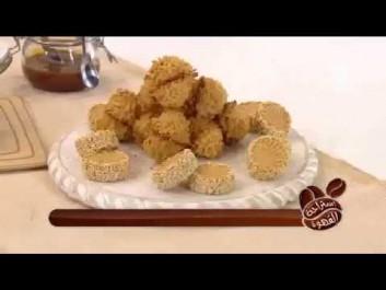 Samira TV – طريقة تحضير حلوى بالجلجلان سهلة وسريعة مع الشاف أمين صالحي