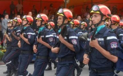Le Ministre Tchadien De La Sécurité Publique Sous Le Charme «Les pompiers algériens c'est du sérieux»