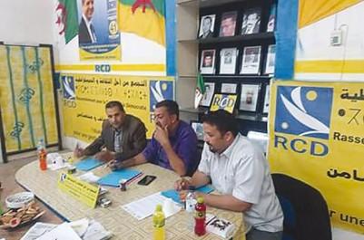 Alors qu'il a lancé une longue campagne de proximité à Tizi Ouzou: Le RCD prépare activement la marche du 5 novembre à Béjaïa
