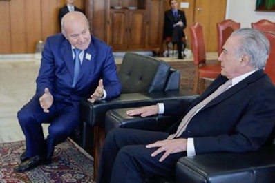Le président brésilien reçoit Issad Rebrab