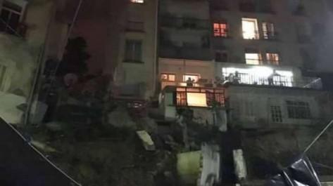 Alger: Evacuation d'un immeuble à Telemly après l'effondrement d'un mur de soutènement