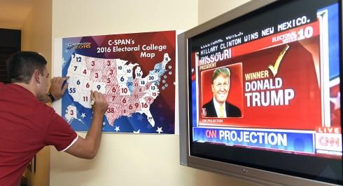 Le candidat républicain Donald Trump remporte l'élection présidentielle américaine