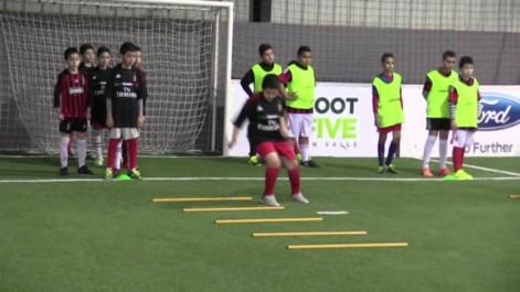 Football: inauguration de l'école de l'AC Milan en Algérie.