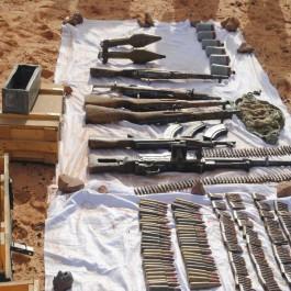 Lutte antiterroriste : l'ANP a découvert une cache d'armes et de munitions à Adrar