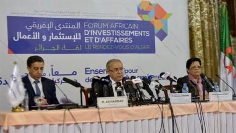 Forum africain de l'investissement et des affaires : L'Algérie envisage de conforter sa présence économique