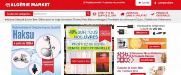 Algérie Market, l'hypermarché du web