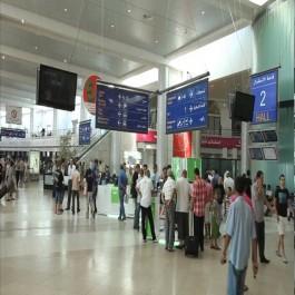 Aéroport d'Alger: Saisie de 50 mille dollars sur un passager à destination d'Istanbul