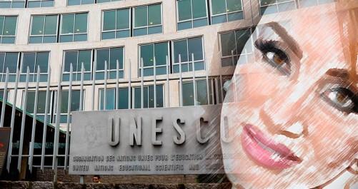 Ahlem Mosteghanemi nommée ''Artiste de l'Unesco pour la paix''.