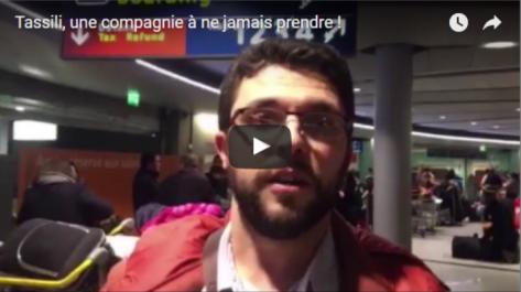 Tassili Airlines: des annulations de vols entrainent la colère des passagers (vidéo)