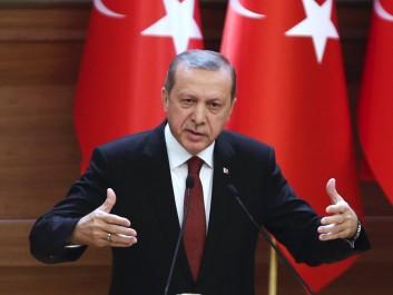 Erdogan demande aux observateurs européens de «rester à leur place» et envisage un référendum sur l'UE