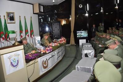 Gaïd Salah à l'Académie militaire de Cherchell: « Nos actions ont atteint leurs objectifs »..