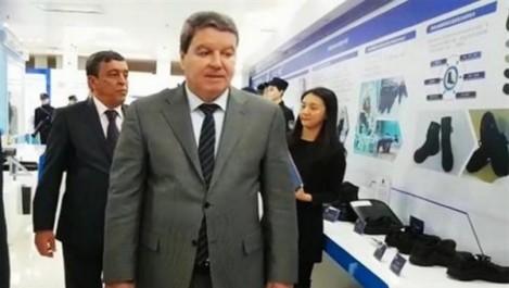 Le DG de la sûreté nationale visite l'université des sciences sécuritaires de Chine.
