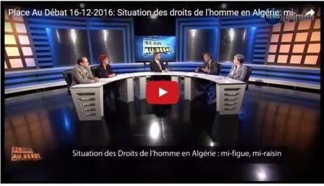 Emission sur les droits de l'Homme en Algérie: Qui est derrière la censure ? (vidéo)