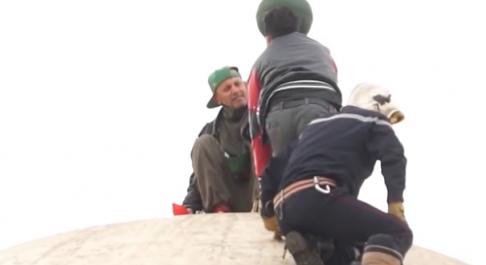 Un vendeur à la sauvette tente de se suicider du haut du Djamâa El Kebir