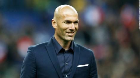 Zinedine Zidane, finaliste pour le titre de meilleur entraîneur 2016