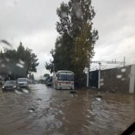 Intempéries: Inondations à Alger, circulation routière perturbée