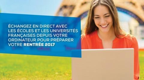 Campus France innove et organise un salon des études en ligne