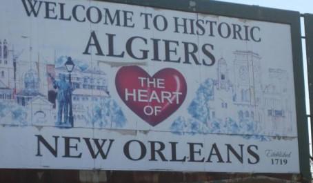 De la Nouvelle Orléans à Algiers !