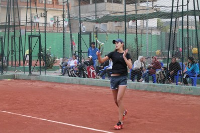 Tournoi de Antalya (double) : Amira Benaïssa en quart de finale